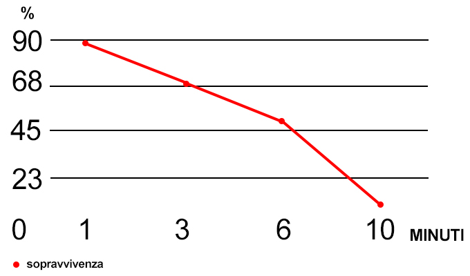 grafico della sopravvivenza
